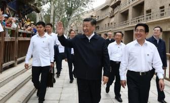 党史学习教育·习近平《论中国共产党历史》(十九)真抓实干 团结一心开创富民兴陇新局
